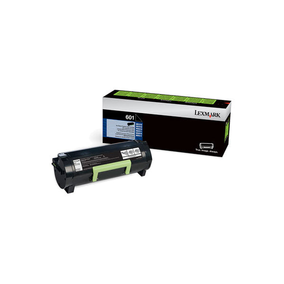 Lexmark 60F000G (601G) Return Program Toner Cartridge for US Government (2,500 Yield) (TAA Compliant Version of 60F1000)