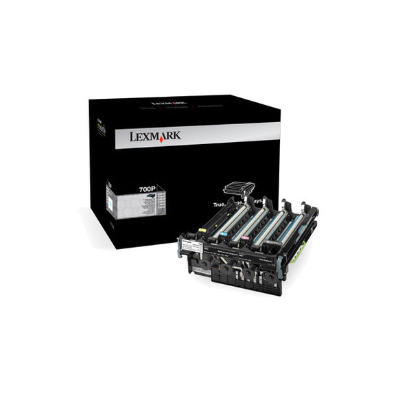 Lexmark 70C0P00 (700P) Photoconductor Unit (40,000 Yield) - Technology Inks Pro, LLC.