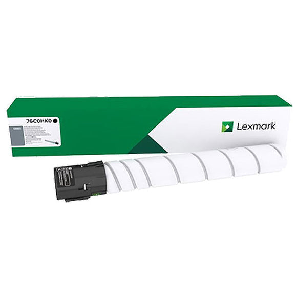 Lexmark 76C0HK0 High Yield Black Toner Cartridge (34,000 Yield)