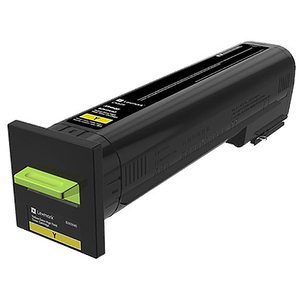Lexmark 82K0X40 Extra High Yield Yellow Toner Cartridge (22,000 Yield)