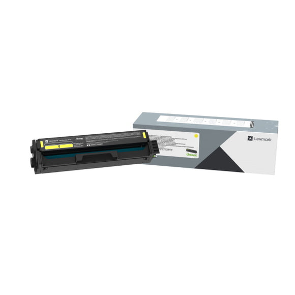 Lexmark C330H40 Yellow High Yield Toner Cartridge (Yield 2,500)