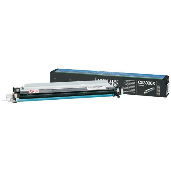 Lexmark C53030X Photoconductor Single Pack (For Use in Cyan Magenta Yellow or Black) (20,000 Yield) - Technology Inks Pro, LLC.