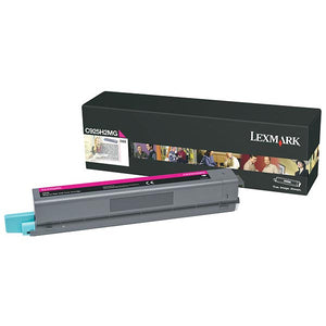 Lexmark C925H2MG High Yield Magenta Toner Cartridge (7,500 Yield) (For Use in Model C925)