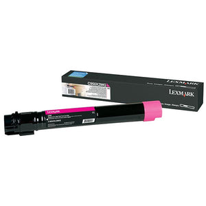 Lexmark C950X2MG High Yield Magenta Toner Cartridge (22,000 Yield)