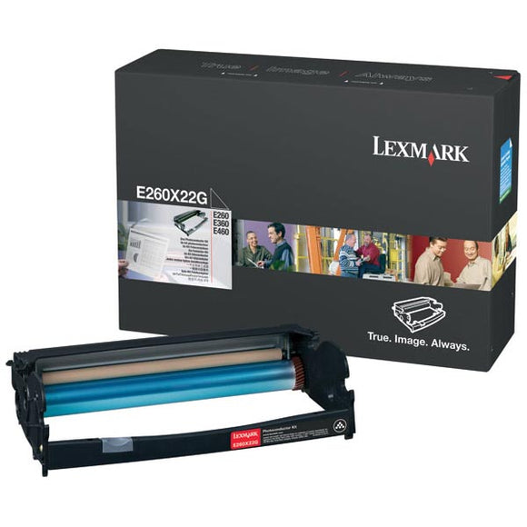 Lexmark E260X22G Photoconductor Kit (30,000 Yield)