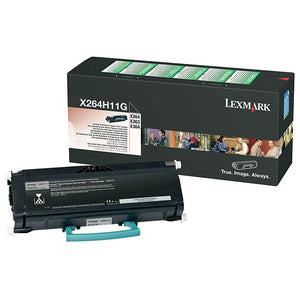 Lexmark X264H11G High Yield Return Program Toner Cartridge (9,000 Yield)