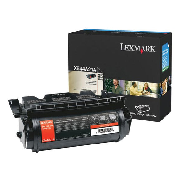 Lexmark X644A21A Toner Cartridge (10,000 Yield)