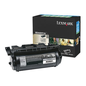 Lexmark X644H11A High Yield Return Program Toner Cartridge (21,000 Yield)