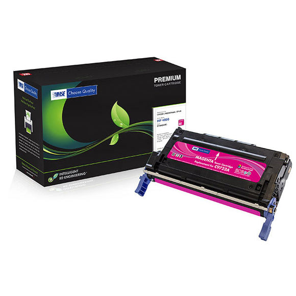 MSE MSE02212314 Remanufactured Magenta Toner Cartridge (Alternative for HP C9723A 641A) (8,000 Yield)