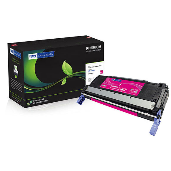 MSE MSE02213314 Remanufactured Magenta Toner Cartridge (Alternative for HP C9733A 645A) (12,000 Yield)