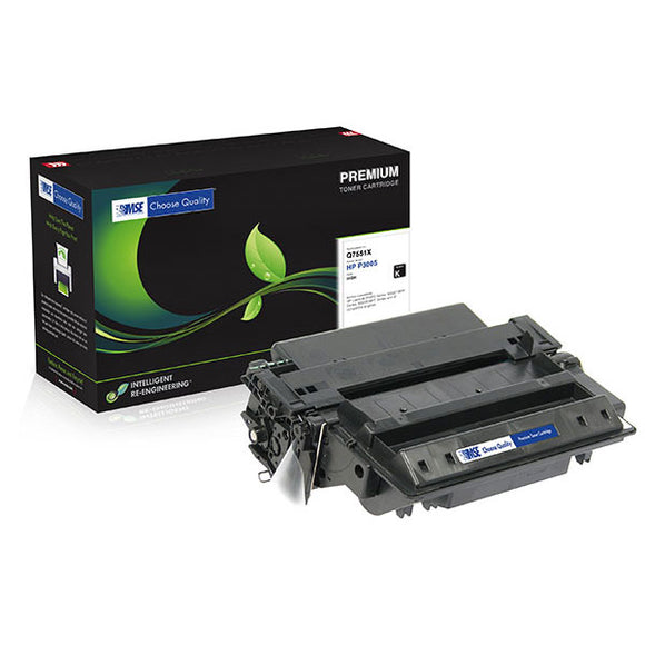 MSE MSE02213516 Remanufactured High Yield Toner Cartridge (Alternative for HP Q7551X 51X) (13,000 Yield)