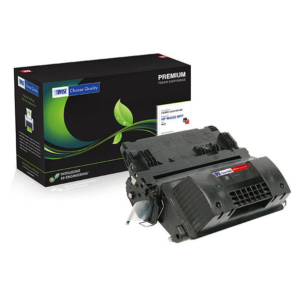 MSE MSE02214517 Remanufactured High Yield MICR Toner Cartridge (Alternative for HP CE390X 90X) (24,000 Yield)
