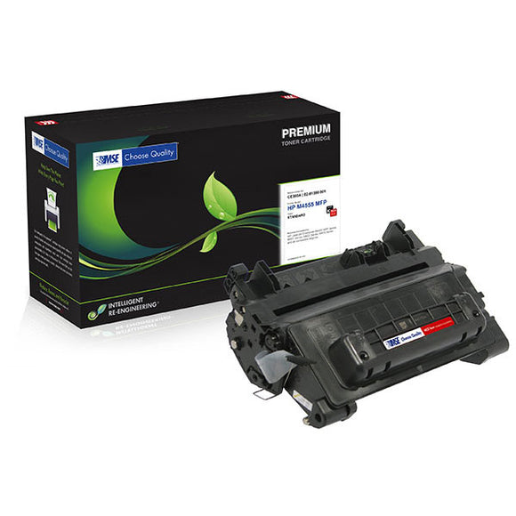 MSE MSE02219015 Remanufactured MICR Toner Cartridge (Alternative for HP CE390A 90A) (10,000 Yield)
