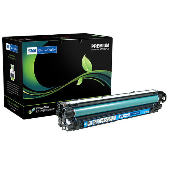 MSE MSE022134114 Remanufactured Cyan Toner Cartridge (Alternative for HP CE341A 651A) (16,000 Yield)