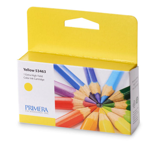 Primera 53463 High Yield Yellow Ink Cartridge