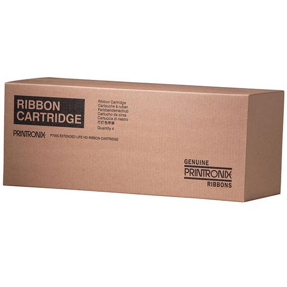 Printronix 255048-402 Extended Capacity Cartridge Ribbon (30,000 Yield) (4 Rbn/Box) (Not available in the P7005 P7205 P8005 or P8205)