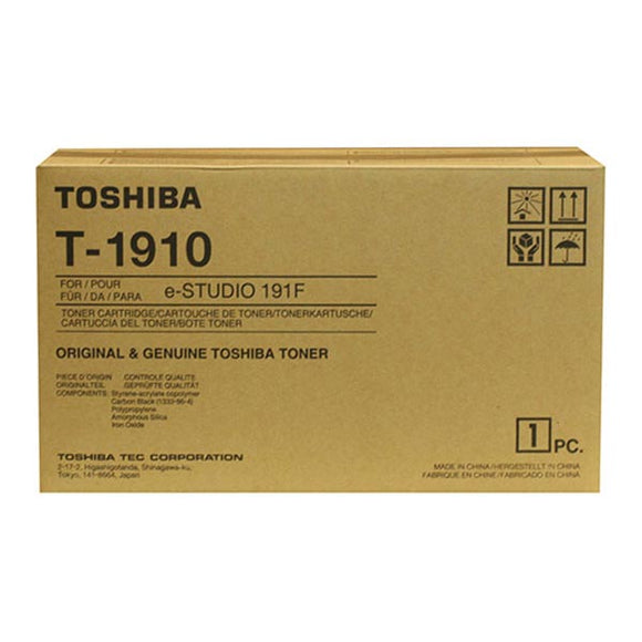 Toshiba T-1910 Toner Kit (Includes Developer and Drum) (10,000 Yield)