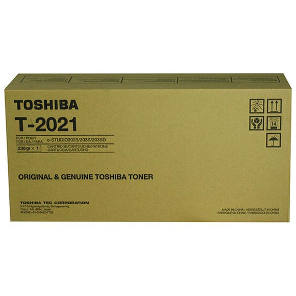 Toshiba T2021 Toner Cartridge (8,000 Yield)