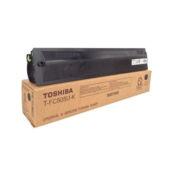 Toshiba TFC505UK Black Toner Cartridge (38,400 Yield)