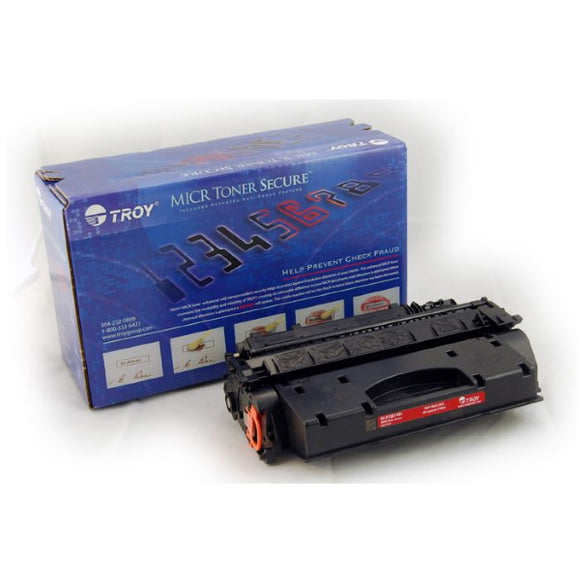 TROY 02-81501-001 High Yield MICR Toner Secure Cartridge (6,500 Yield)