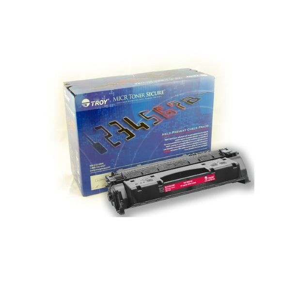 TROY 02-81551-001 High Yield MICR Toner Secure Cartridge (6,800 Yield)