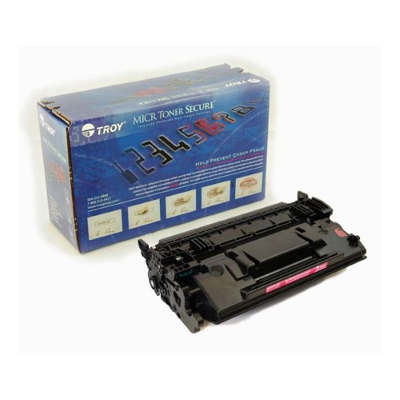 TROY 02-81675-001 MICR Toner Secure Cartridge (9,000 Yield)