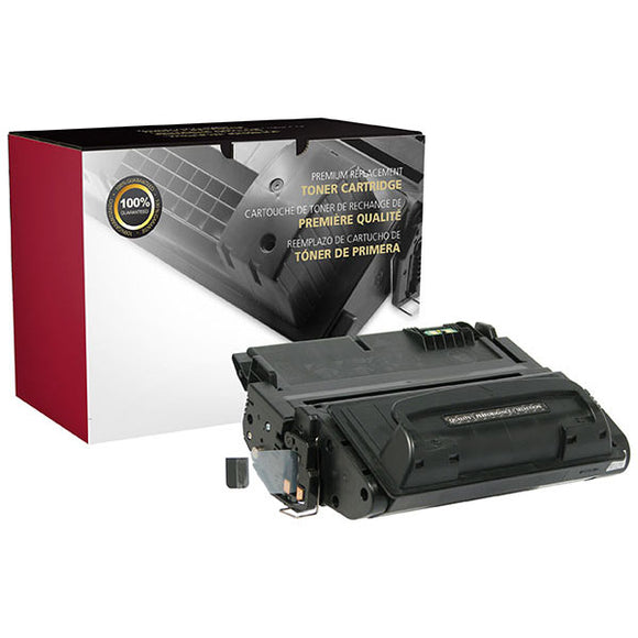 Clover Imaging Group 113637P Remanufactured MICR Toner Cartridge (Alternative for HP Q5942A 42A 02-81135-001) (10,000 Yield) - Technology Inks Pro, LLC.