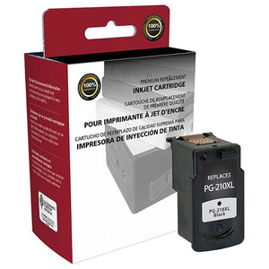 Clover Imaging Group 117200 Remanufactured High Yield Black Ink Cartridge (Alternative for Canon 2973B001 PG-210XL) (401 Yield)