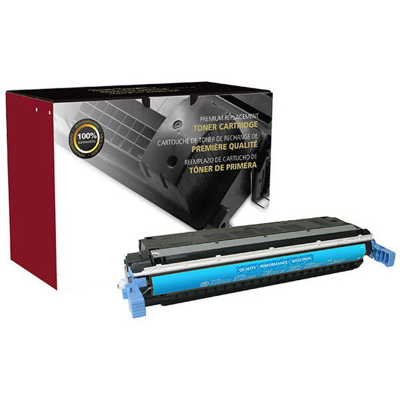 Clover Imaging Group 200060P Remanufactured Cyan Toner Cartridge (Alternative for HP C9731A 645A) (12,000 Yield) - Technology Inks Pro, LLC.