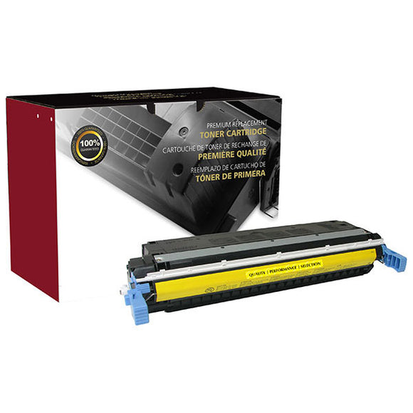 Clover Imaging Group 200061P Remanufactured Yellow Toner Cartridge (Alternative for HP C9732A 645A) (12,000 Yield) - Technology Inks Pro, LLC.