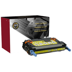 Clover Imaging Group 200084P Remanufactured Yellow Toner Cartridge (Alternative for HP Q6472A 502A  2575B001AA 117) (4,500 Yield) - Technology Inks Pro, LLC.