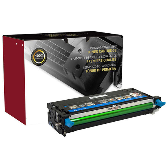 Clover Imaging Group 200116P Remanufactured High Yield Cyan Toner Cartridge (Alternative for  310-8397 XG722 310-8398 XG726) (8,000 Yield) - Technology Inks Pro, LLC.