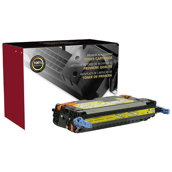 Clover Imaging Group 200133P Remanufactured Yellow Toner Cartridge (Alternative for HP Q7582A 503A  1657B001AA 111) (6,000 Yield) - Technology Inks Pro, LLC.