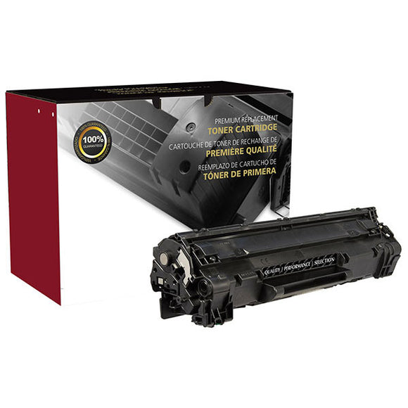 Clover Imaging Group 200182P Remanufactured Toner Cartridge (Alternative for HP CE285A 85A  3484B001AA 125) (1,600 Yield) - Technology Inks Pro, LLC.