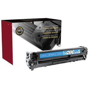 Clover Imaging Group 200188P Remanufactured Cyan Toner Cartridge (Alternative for HP CE321A 128A) (1,300 Yield) - Technology Inks Pro, LLC.