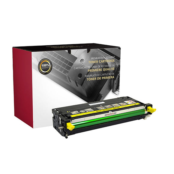 Clover Imaging Group 200255P Remanufactured High Yield Yellow Toner Cartridge (Alternative for  113R00725) (6,000 Yield) - Technology Inks Pro, LLC.