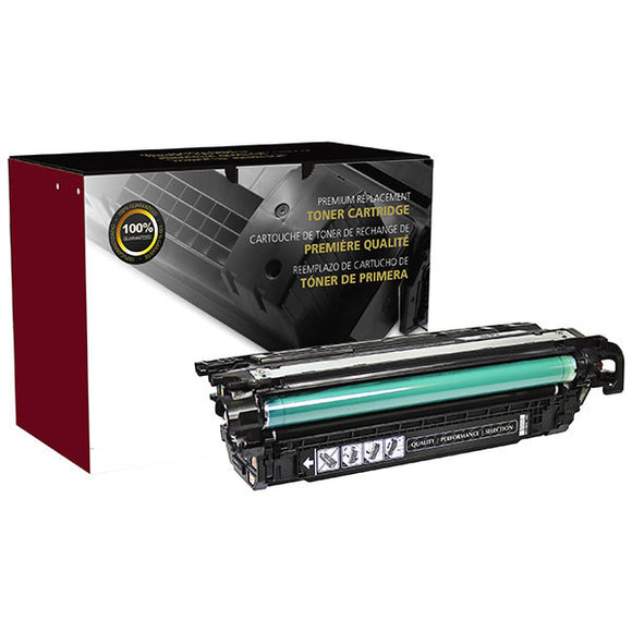 Clover Imaging Group 200489P Remanufactured Black Toner Cartridge (Alternative for HP CE260A 647A 646A) (8,500 Yield) - Technology Inks Pro, LLC.