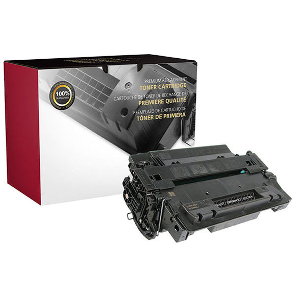 Clover Imaging Group 200490P Remanufactured Extended Yield Toner Cartridge (Alternative for HP CE255X 55X) (20,000 Yield) - Technology Inks Pro, LLC.