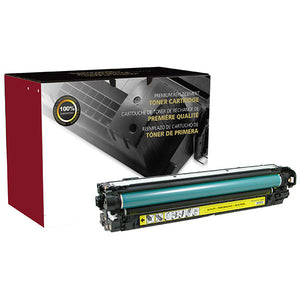 Clover Imaging Group 200576P Remanufactured Yellow Toner Cartridge (Alternative for HP CE272A 650A) (15,000 Yield) - Technology Inks Pro, LLC.