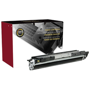 Clover Imaging Group 200578P Remanufactured Black Toner Cartridge (Alternative for HP CE310A 126A) (1,200 Yield) - Technology Inks Pro, LLC.