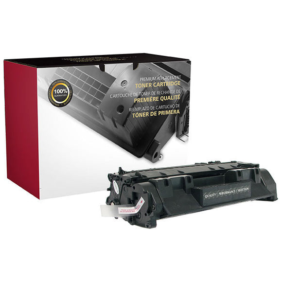 Clover Imaging Group 200633P Remanufactured Extended Yield Toner Cartridge (Alternative for HP CE505A 05A) (5,000 Yield) - Technology Inks Pro, LLC.