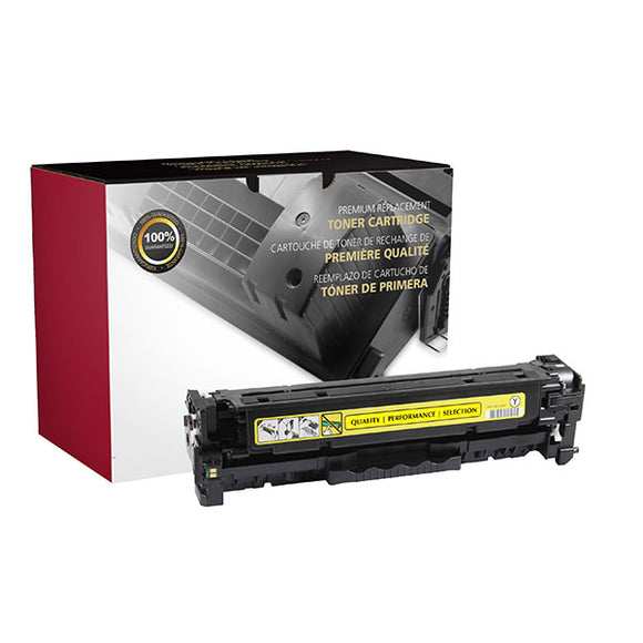 Clover Imaging Group 200743P Remanufactured Yellow Toner Cartridge (Alternative for HP CF382A 312A) (2,700 Yield) - Technology Inks Pro, LLC.