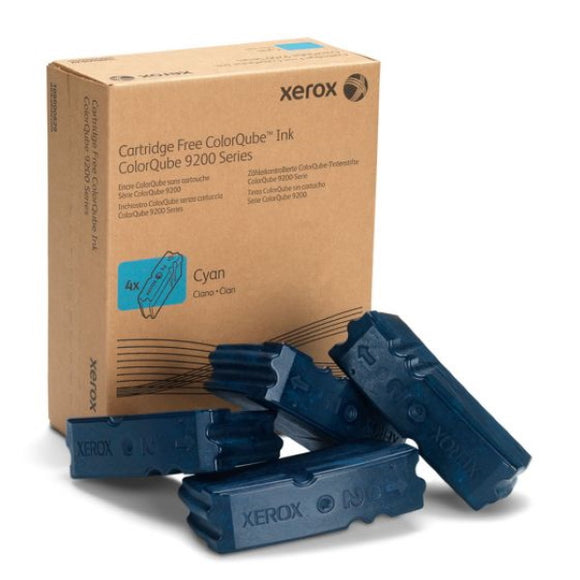 Xerox 108R00829 Cyan Solid Ink (4 Sticks/Box) (Total Box Yield 37,000)