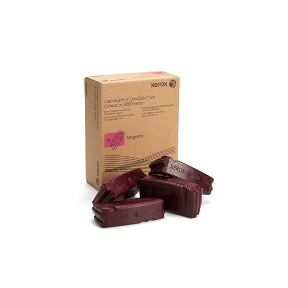 Xerox 108R00830 Magenta Solid Ink (4 Sticks/Box) (Total Box Yield 37,000)