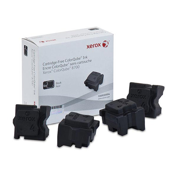 Xerox 108R00994 Black Solid Ink (4 Sticks/Box) (Total Box Yield 9,000)