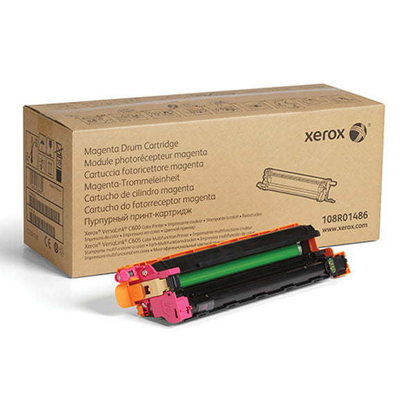 Xerox 108R01486 Magenta Drum Cartridge (40,000 Yield) - Technology Inks Pro, LLC.