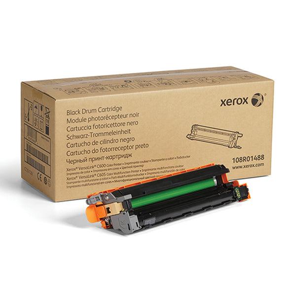 Xerox 108R01488 Black Drum Cartridge (40,000 Yield) - Technology Inks Pro, LLC.