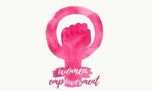 women empowerment logo/ sign