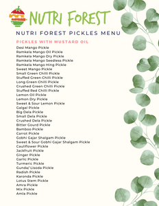 nutri forest pickle menu