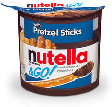 Load image into Gallery viewer, nutella and go pretzel